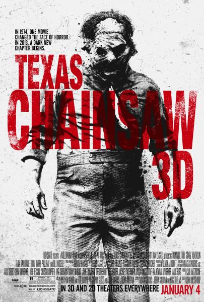Texas Chainsaw 3D Poster NYCC: Leatherface is Front and Centre of Old School New Poster for Texas Chainsaw 3D