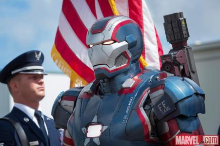 Iron Man 3 lands 4 New Images with First Look at Rebecca Hall & Iron Patriot Close Up
