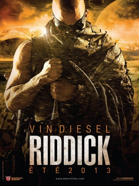 Riddick International Poster 487x650 First International Poster for Riddick with Vin Diesel