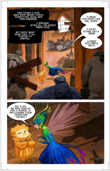 New Series of Story Art for DreamWorks' Rise of the Guardians