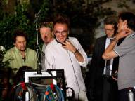 Danny-Boyle-and-Vincent-Cassel-on-set-of-Trance