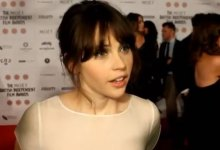 Felicity Jones BIFA Interview 220x150 British Independent Film Awards 2012 Winners and Presenter Interviews