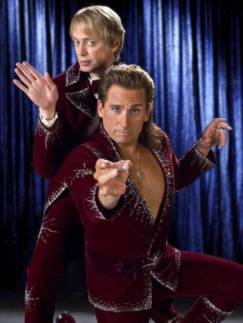 First Official Images: Jim Carrey & Steve Carell in The Incredible Burt Wonderstone