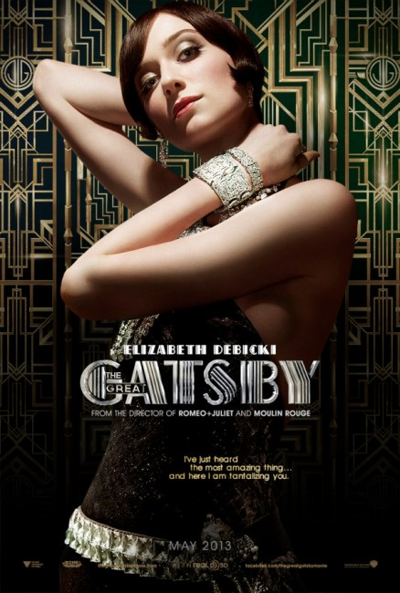The Great Gatsby – Elizabeth Debicki Character Poster 438x650 New Character Poster for The Great Gatsby – Meet Elizabeth Debicki's Jordan Baker