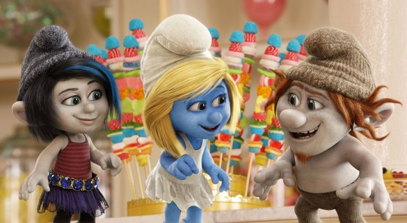The Smurfs 2 585x321 First Trailer & New Image for The Smurfs 2