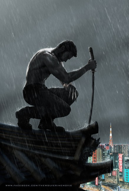 The Wolverine Poster 438x650 The Wolverine lands a Brilliant New Motion Poster