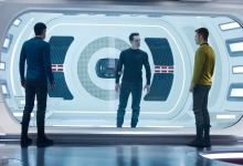 Zachary Quinto Benedict Cumberbatch and Chris Pine in Star Trek Into Darkness 220x150 New Image of Chris Pine, Zachary Quinto & Benedict Cumberbatch in Star Trek Into Darkness