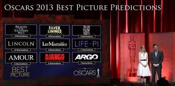 2013 Oscars Best Pictures 585x289 HeyUGuys Best Picture Oscar Predictions: 2013 Edition