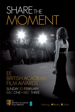 BAFTA Poster 2013 435x650 Watch the BAFTA Red Carpet in 360°