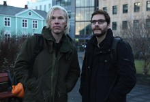 Benedict Cumberbatch and Daniel Brühl in The Fifth Estate 220x150 First Look Image: Benedict Cumberbatch as WikiLeaks' Julian Assange in The Fifth Estate
