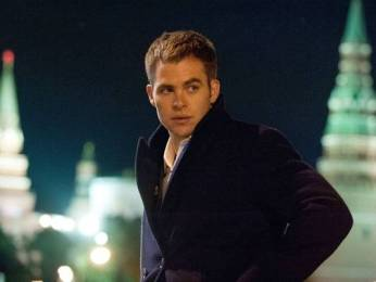 New Images of Chris Pine & Kevin Costner in Jack Ryan