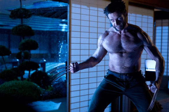 Hugh Jackman in The Wolverine1 585x389 New Hi Res Image of Hugh Jackman in The Wolverine