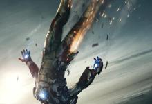 Iron Man 3 Poster 220x150 Tony Stark Falls from the Sky in Awesome New Poster for Iron Man 3