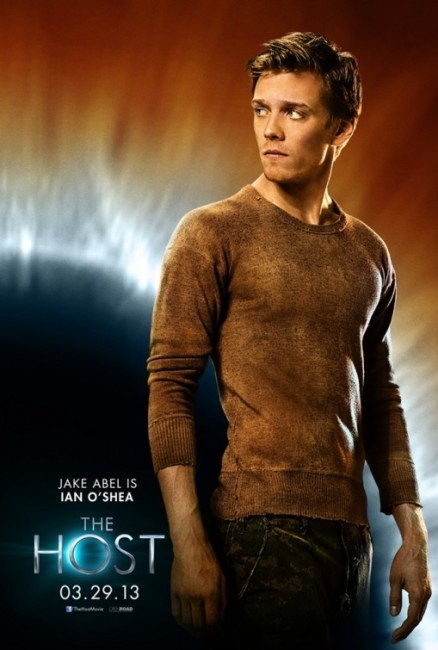 The Host Character Poster Jake Abel 438x650 New Character Poster for Andrew Niccol's The Host – 'Jake Abel is Ian O'Shea'