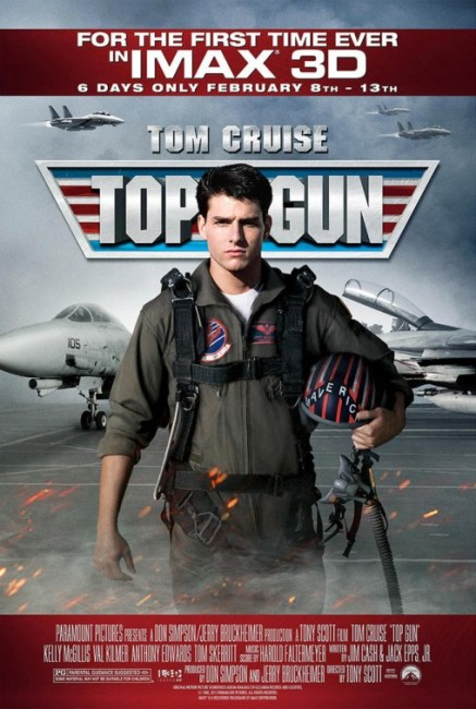 Top Gun 3D IMAX Poster 437x650 The IMAX Poster for Top Gun 3D