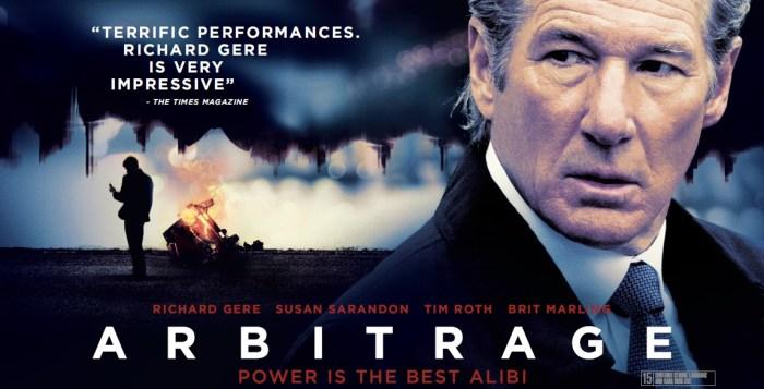 Arbitrage-UK-Quad-Poster