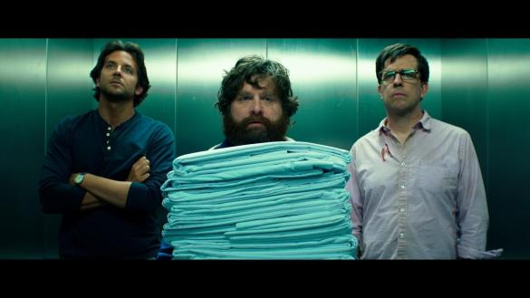 Bradley Cooper Zach Galifianakis and Ed Helms in The Hangover Part III 585x329 New Image of Bradley Cooper, Zach Galifianakis & Ed Helms in The Hangover Part III