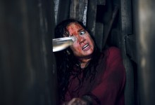 Jane Levy in Evil Dead 220x150 Bloody New Image of Jane Levy in Evil Dead
