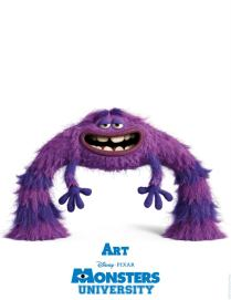 Monsters-University-Character-Poster-Art