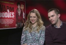 Nicholas Hoult and Teresa Palmer 220x150 The HeyUGuys Interview   Nicholas Hoult & Teresa Palmer talk Warm Bodies