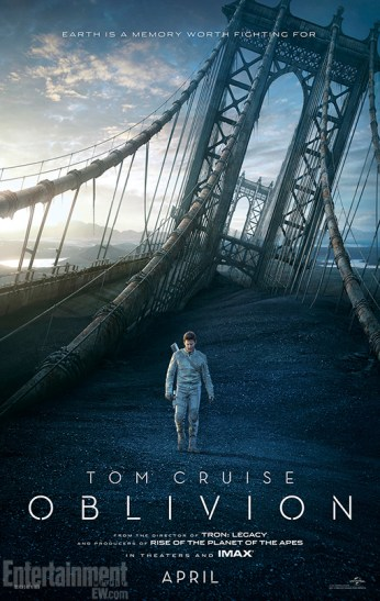 2 New Posters for Joseph Kosinski's Oblivion with Tom Cruise