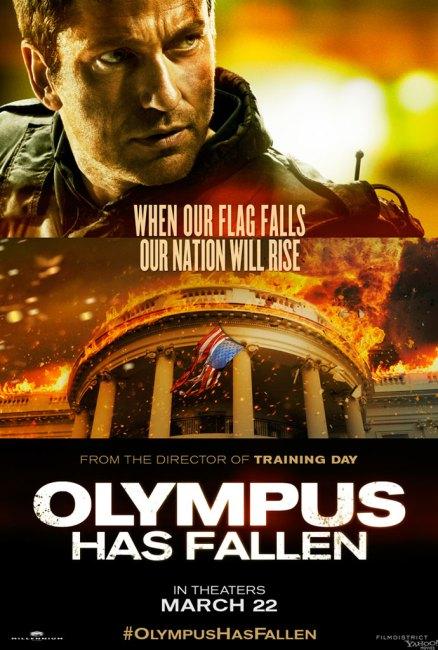 Olympus Has Fallen Character Poster Gerard Butler 438x650 New Character Poster for Gerard Butler in Olympus Has Fallen