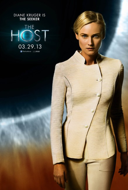 The Host Character Poster Diane Kruger 438x650 New Character Poster for Andrew Niccol's The Host – 'Diane Kruger is The Seeker'