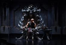 Vin Diesel in Riddick 1 220x150 New Image of Vin Diesel in Riddick – Furyan on the Throne