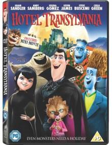 hotel transylvania Hotel Transylvania DVD Review