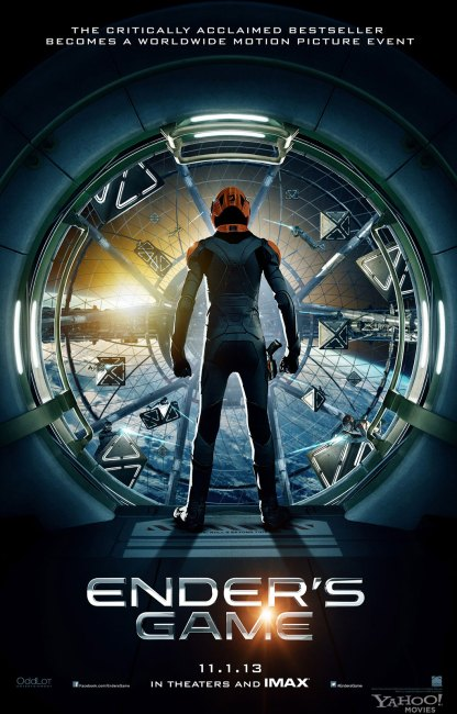 Enders Game Teaser Poster 416x650 The First Teaser Poster for Enders Game
