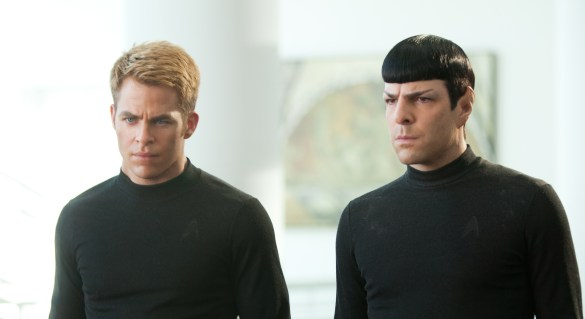 Star Trek Into Darkness Chris Pine and Zachary Quinto 585x319 The HeyUGuys Instant Watching Guide   January 6th 2014