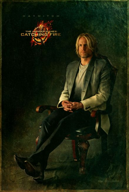 New Capitol Portrait Posters for Jennifer Lawrence & More in The Hunger Games: Catching Fire