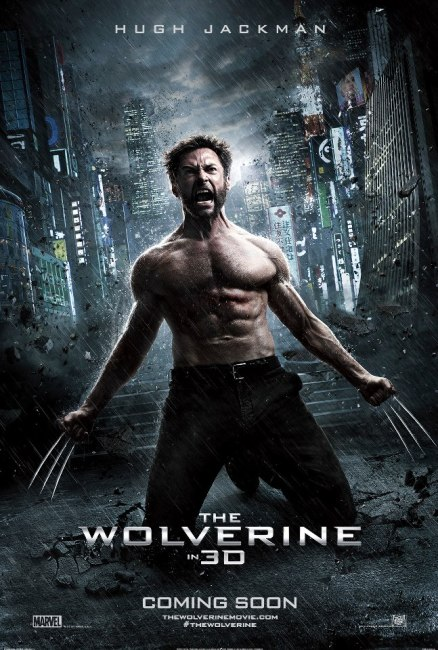 The Wolverine Poster  438x650 Epic First Poster for The Wolverine