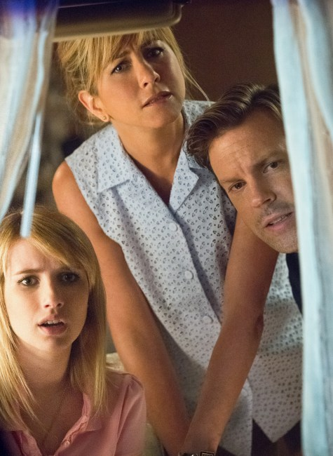 Emma Roberts Jennifer Aniston and Jason Sudeikis in Were the Millers 475x650 The HeyUGuys Instant Watching Guide   December 16th 2013