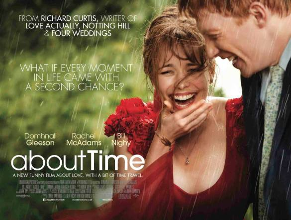 About Time UK Quad Poster 585x443 New UK Quad Poster for Richard Curtis' About Time with Rachel McAdams & Domhnall Gleeson