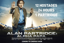 Alan Partridge Alpha Papa Poster 220x150 Alan Partridge: Alpha Papa Review