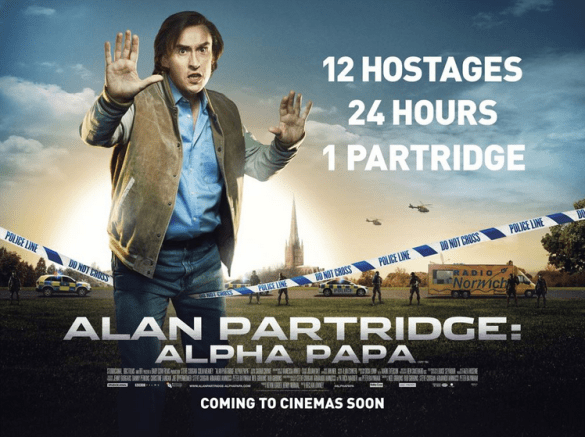 Alan Partridge Alpha Papa Poster 585x437 New Quad Poster for Alan Partridge: Alpha Papa