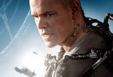 Elysium Poster  e1371191181925 220x150 New Featurette Teases Wetas Tech for Neill Blomkamp's Elysium with Matt Damon