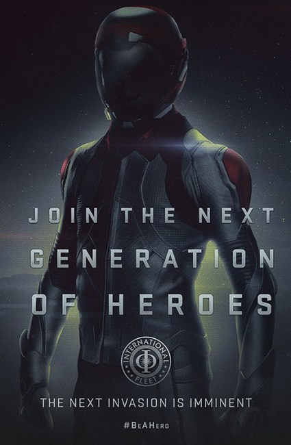 3 New Propaganda Posters for Enders Game – 'Join The Next Generation of Heroes'