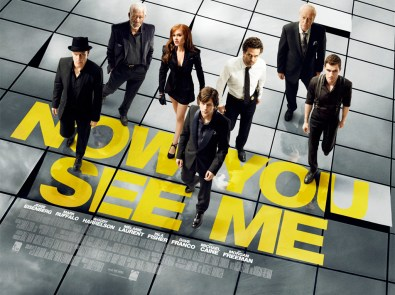Now You See Me UK Poster 585x438 Win a Signed Poster from Now You See Me + Goody Bags