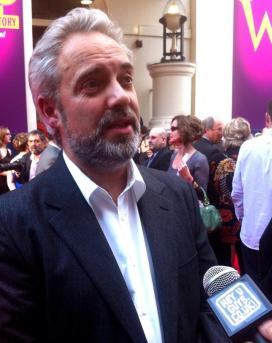 Sam Mendes 494x650 Charlie and the Chocolate Factory Premiere Interviews   Sam Mendes Updates on Bond 24
