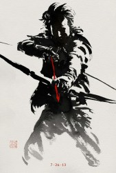 Awesome New International Poster & 3 Ink Character Posters for The Wolverine
