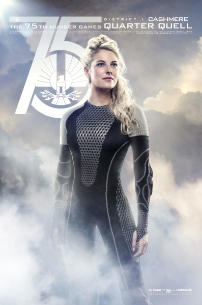 11 New Character Posters for Katniss Everdeen and More in The Hunger Games: Catching Fire