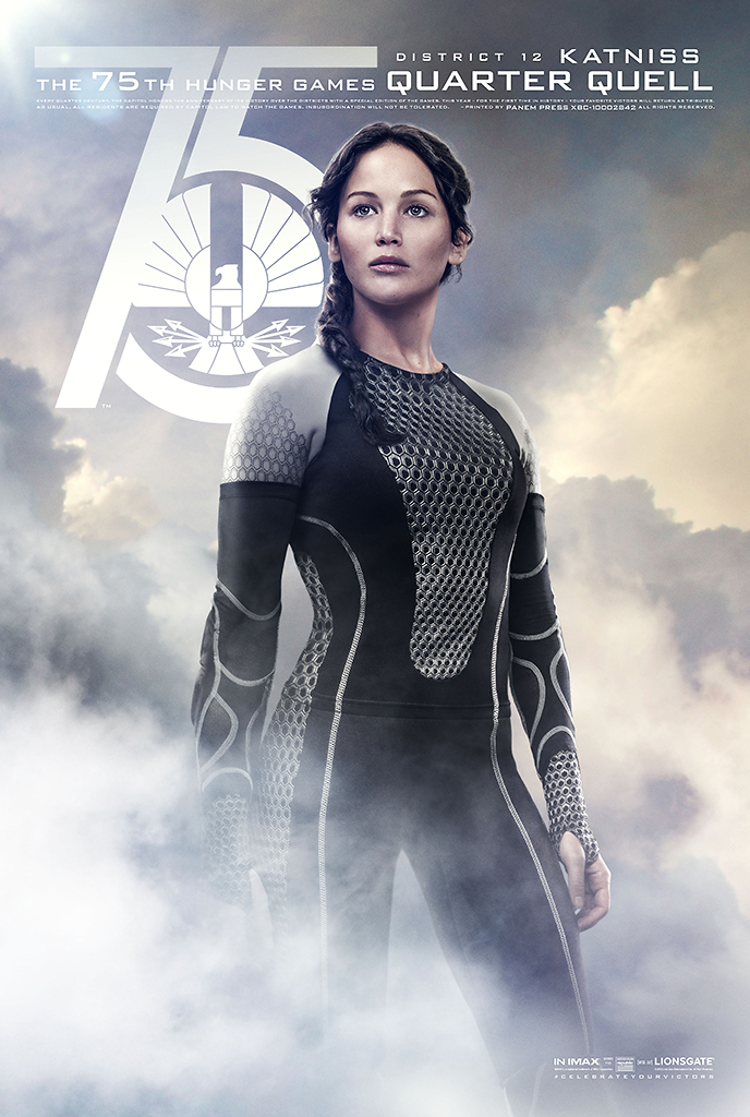 The Hunger Games: Catching Fire Character Poster - Katniss ...