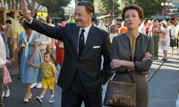 Tom Hanks Emma Thompson Saving Mr Banks 585x350 The HeyUGuys Interview: John Lee Hancock Talks Rediscovering Mary Poppins for Saving Mr. Banks
