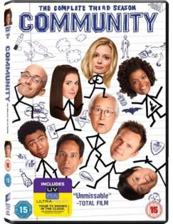 Community Win Community Season 3 on DVD