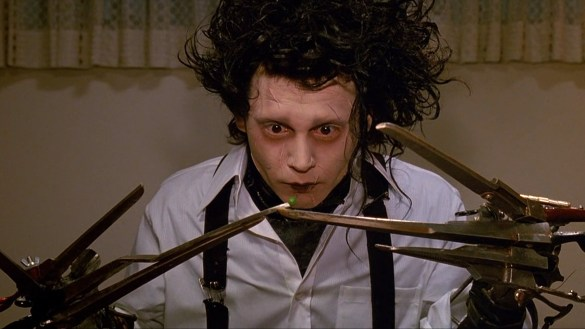 Edward Scissorhands 585x329 The HeyUGuys Instant Watching Guide   March 10th 2014