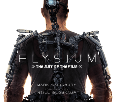 New Artwork from Neill Blomkamp's Elysium with Matt Damon
