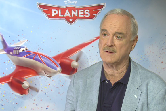 John Cleese Planes The HeyUGuys Interview: John Cleese Discusses Planes and His Own Flying Experiences