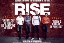 The Rise Quad 220x150 Exclusive: New Quad Poster for Rowan Athale's The Rise with Luke Treadaway & Iwan Rheon